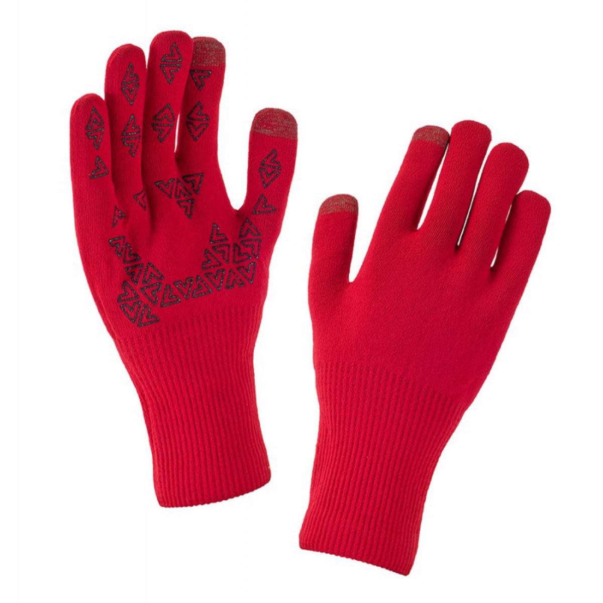 Gants SealSkinz Ultra Grip - XL Core Red/Black Gants