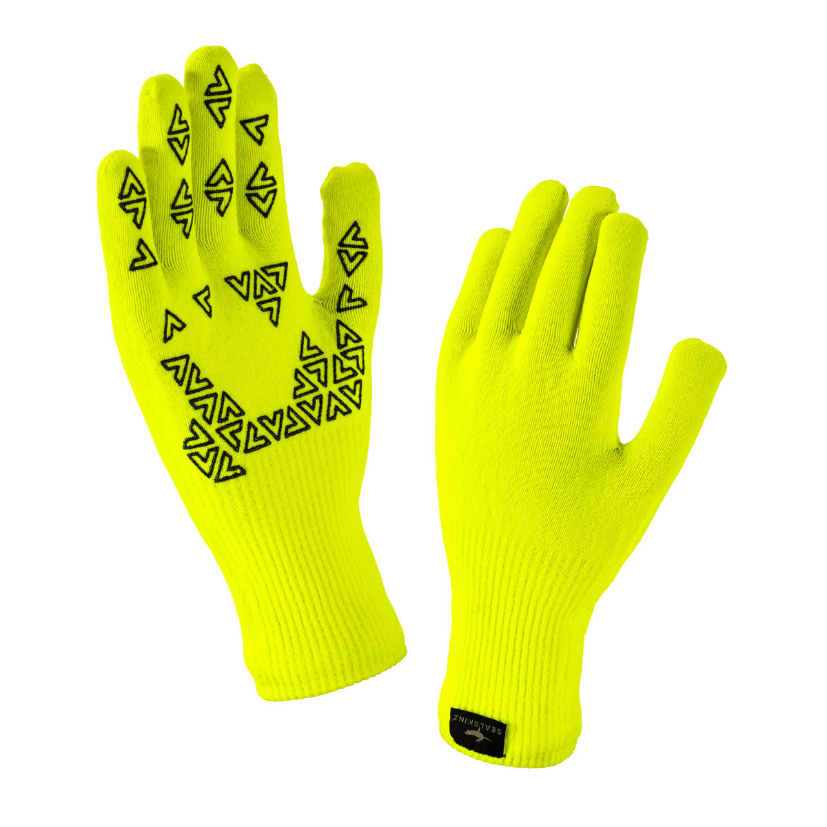 Gants SealSkinz Ultra Grip - L Yellow/Anthracite Gants