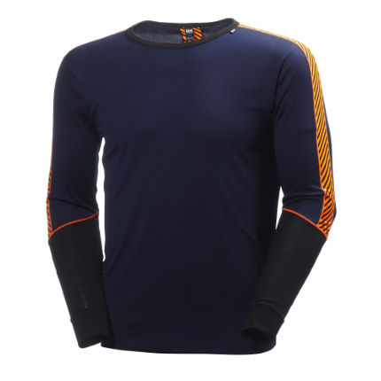 Maillot de corps Helly Hansen Dry Stripe 2 (col rond)