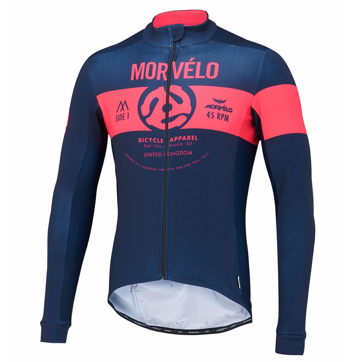 Maillot Morvelo 45 King Thermoactive (manches longues) - XXL 45 King