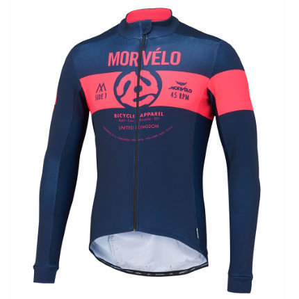 Morvelo 45 King Thermoactive Radtrikot (langarm)