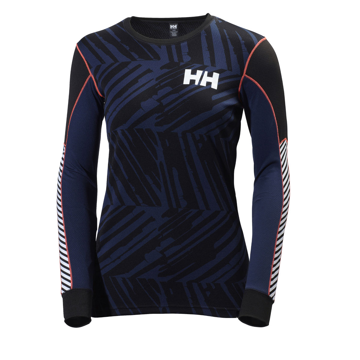 Helly Hansen Women's Active Flow Graphic Base Layer - Extra Large