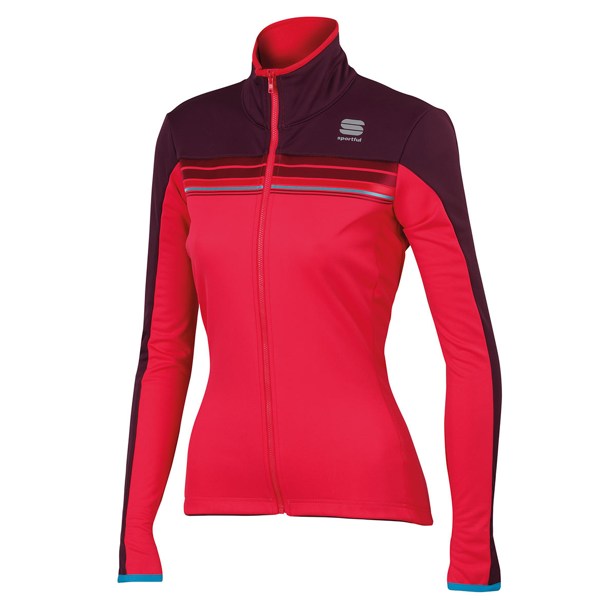 Veste Femme Sportful Allure Softshell - XS Cherry/Bordeaux Vestes