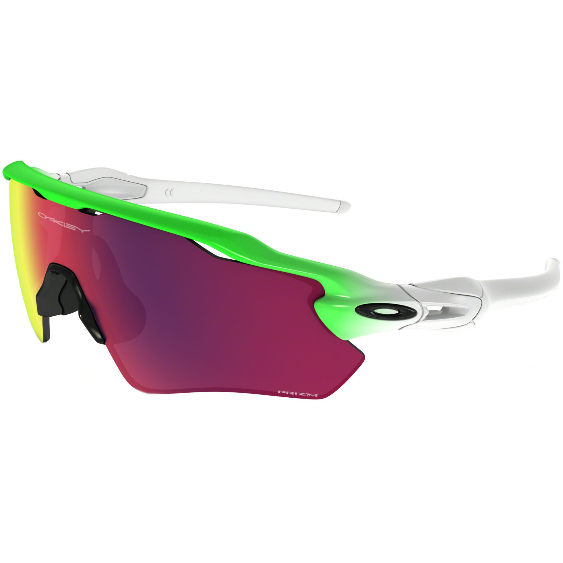 Wiggle Oakley Radar Ev Path Green Fade Prizm Road