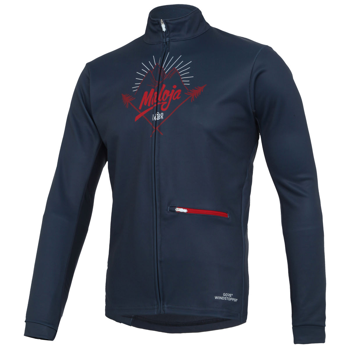 Veste coupe-vent Maloja BurtM. - L Nightfall Coupe-vents vélo