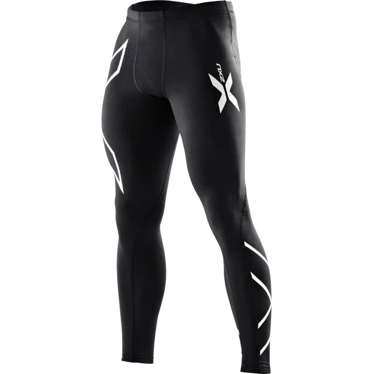 Collant 2XU Compression - XS Black/Silver Logo Sous-vêtements compression