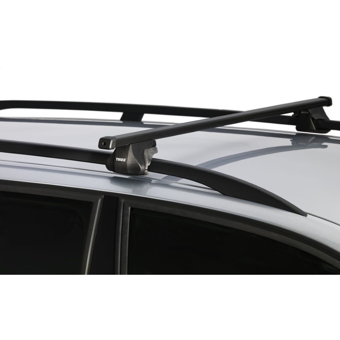 porte v los thule 785 smart rack with 127cm roof bars. Black Bedroom Furniture Sets. Home Design Ideas