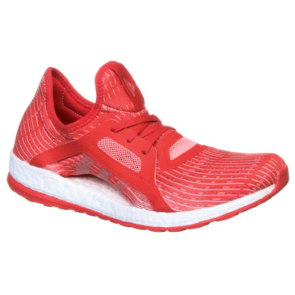 Adidas Women's Pure Boost X Shoes (Red, AW16)
