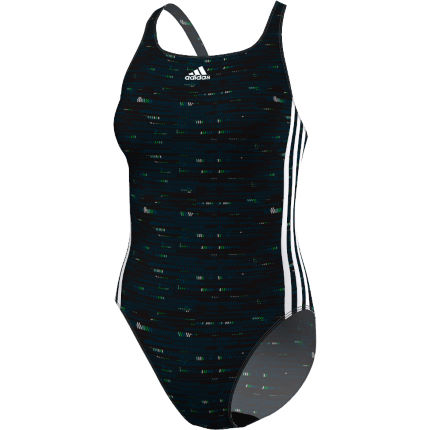 adidas Women's Infinitex Energy 3 Stripe Swimsuit (AW16)