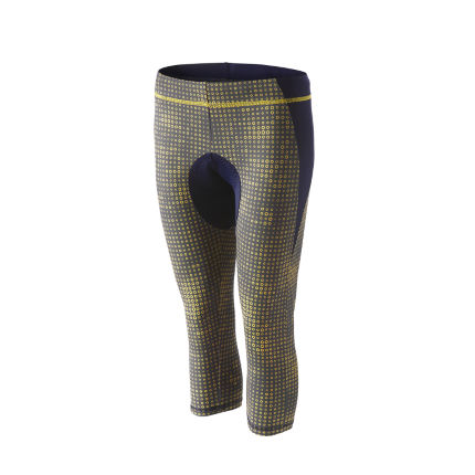 FINDRA Women's Padded Print Tights