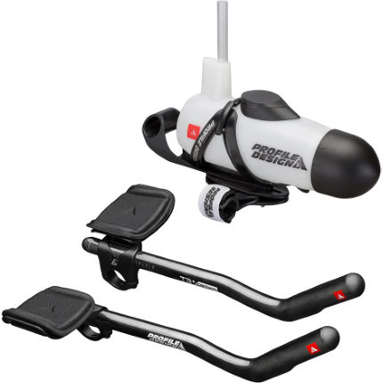 Profile Design T3+ Carbon Aerobar and Aero HC System Bundle