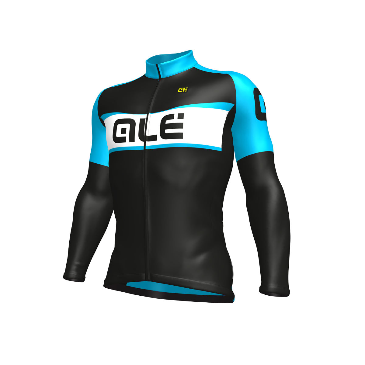 Alé Excel Weddell Long Sleeve Jersey - Small Black/Blue