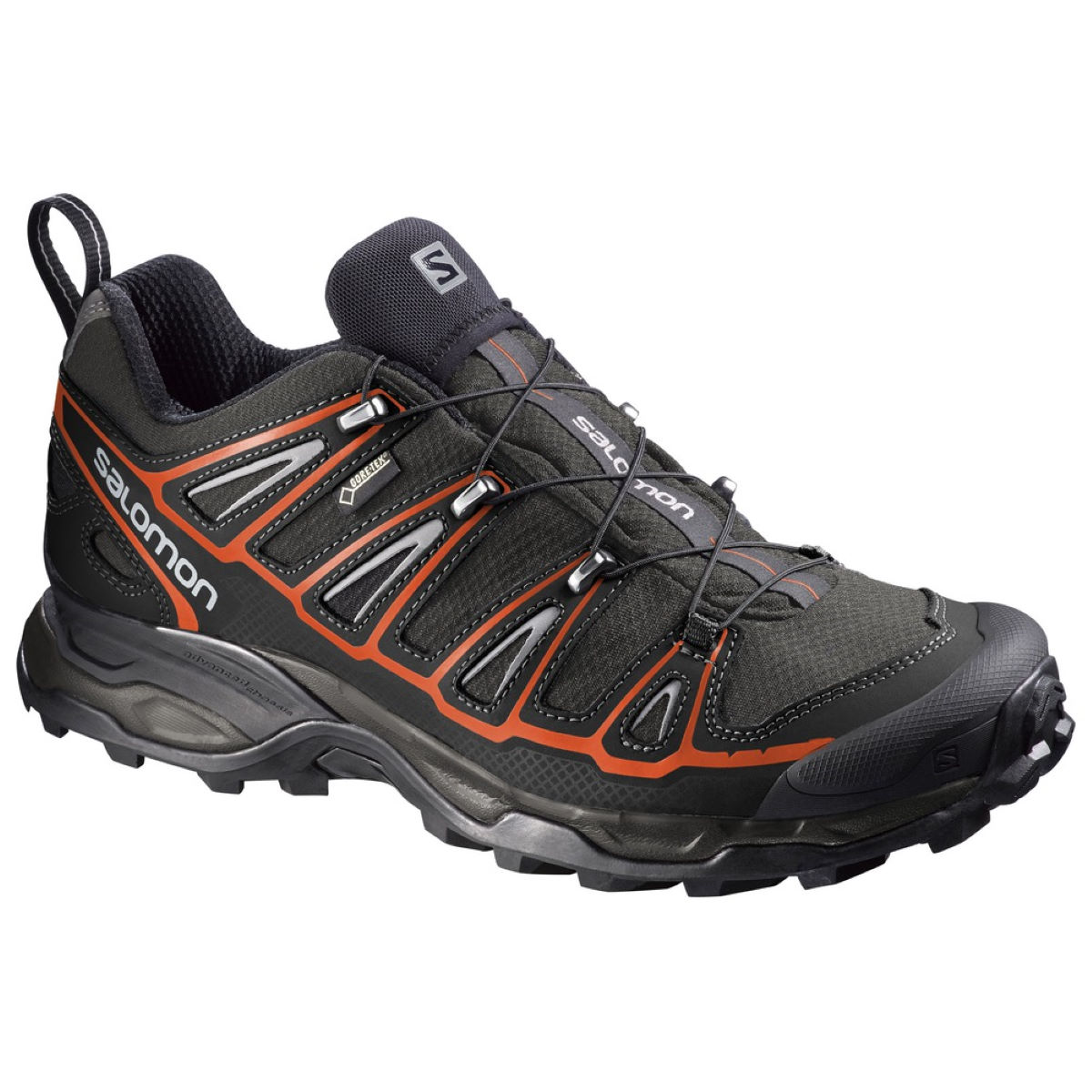 Chaussures Salomon X Ultra 2 GTX - 10 UK Autobahn/Black/Red Randonnée rapide