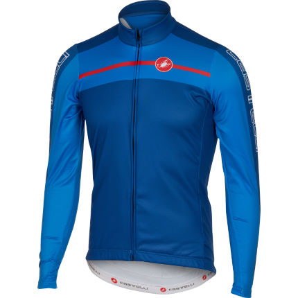 Castelli Velocissimo Full Zip Long Sleeve Jersey