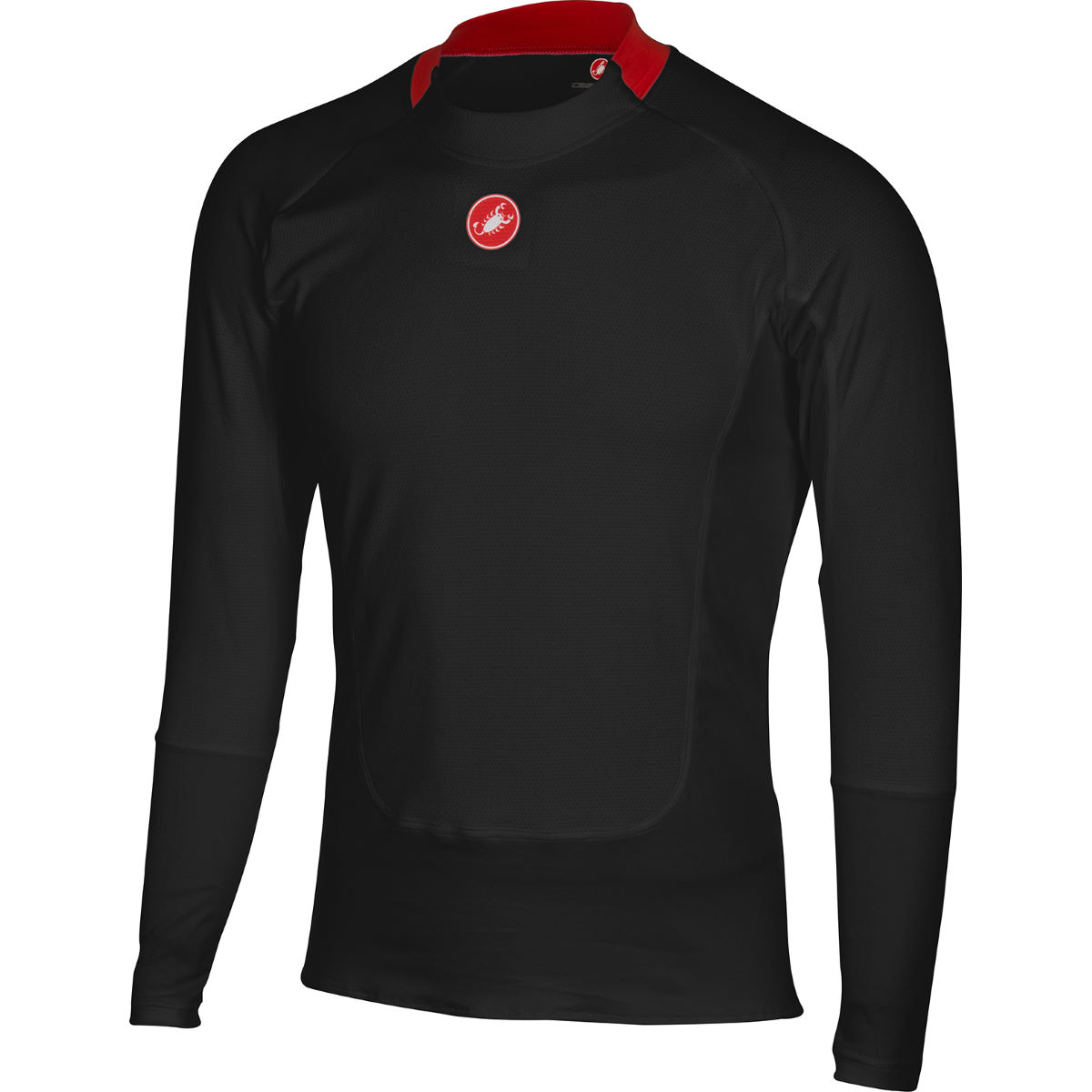 Castelli Prosecco Long Sleeve Base Layer - X Small Black | Base Layers