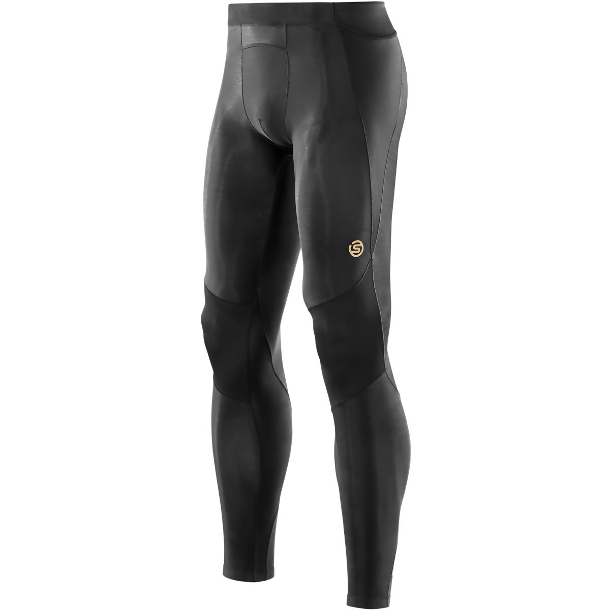 Collant long SKINS A400 - L Noir Sous-vêtements compression