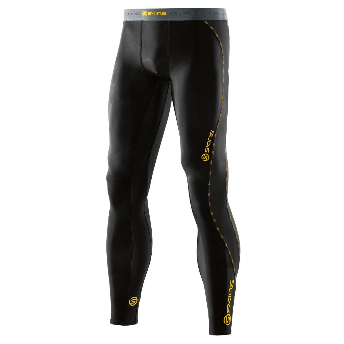 Collant long SKINS DNAmic - XL Noir Sous-vêtements compression