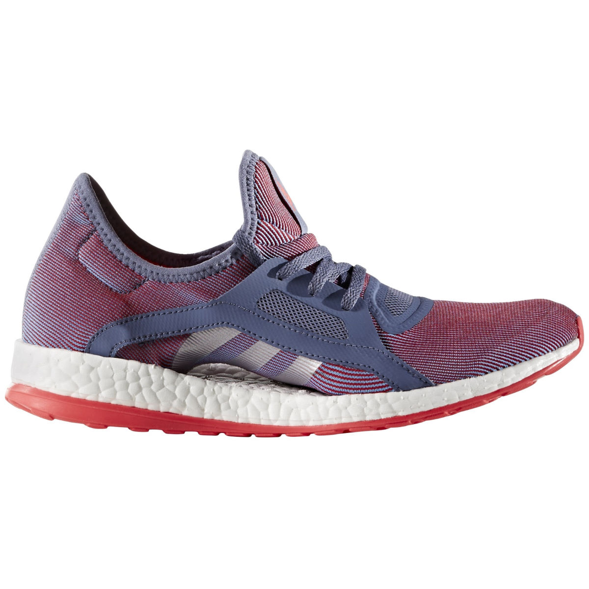 Adidas Womens Pure Boost X Shoes (PurpleRed AW16)   Training Running Shoes