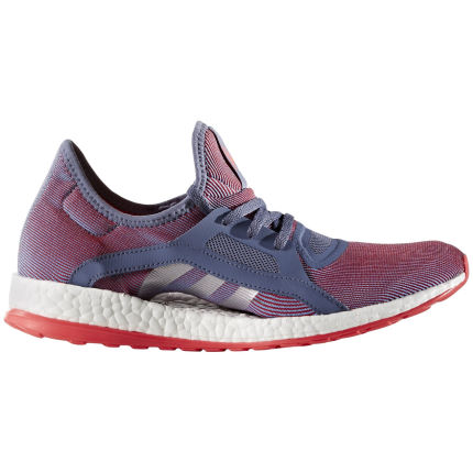 Adidas Women's Pure Boost X Shoes (Purple/Red, AW16)