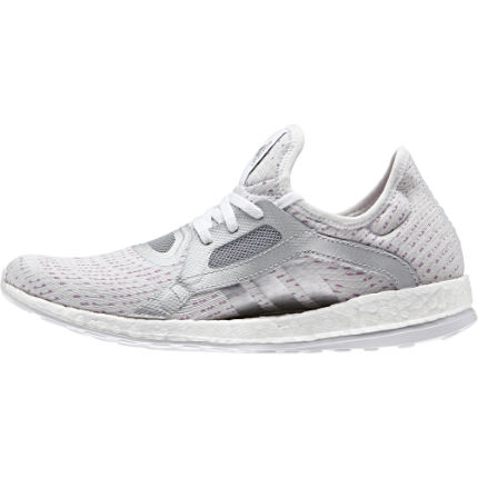 Chaussures Femme Adidas Pure Boost X (blanches/argent, AH16)