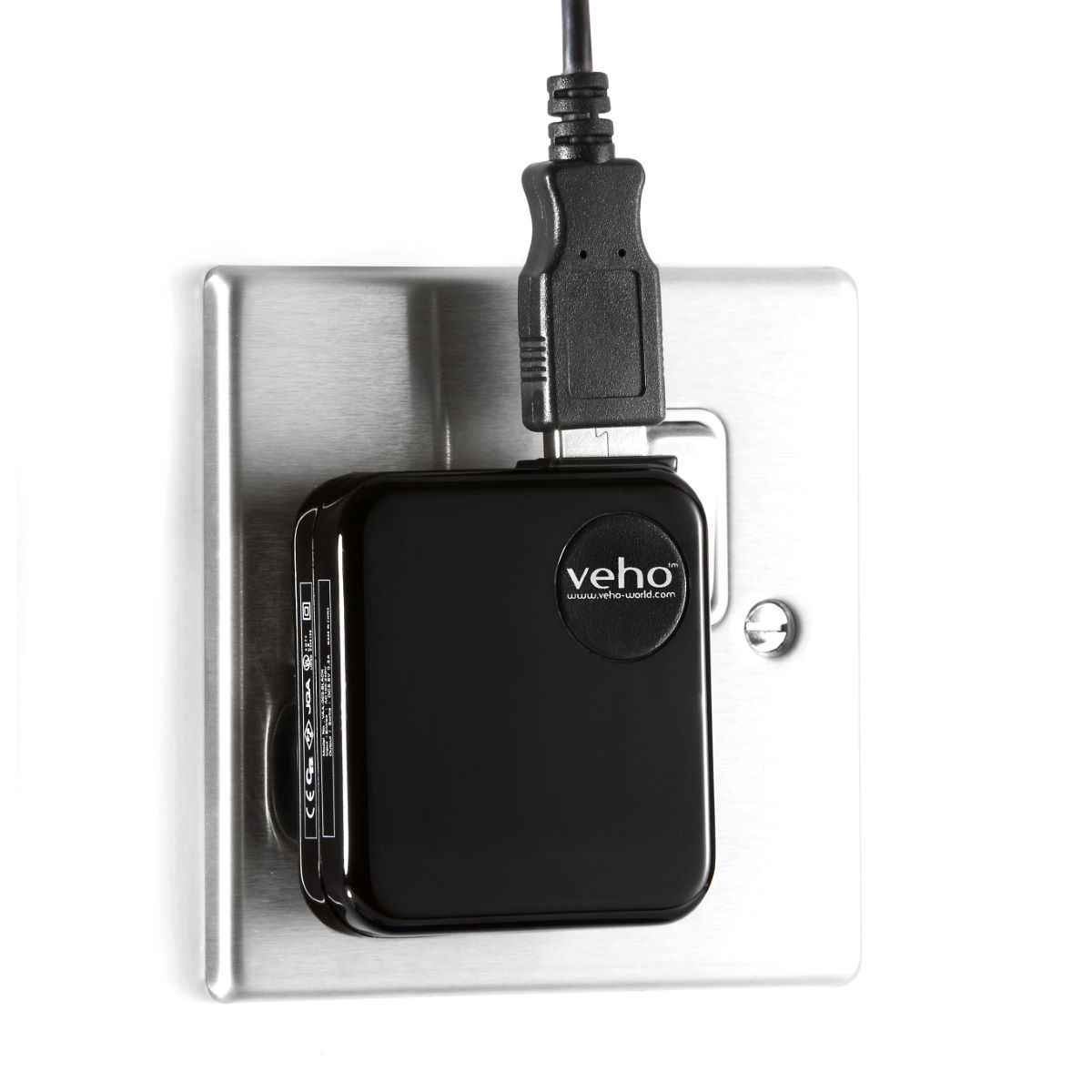 Veho Mains USB Charger   Batteries