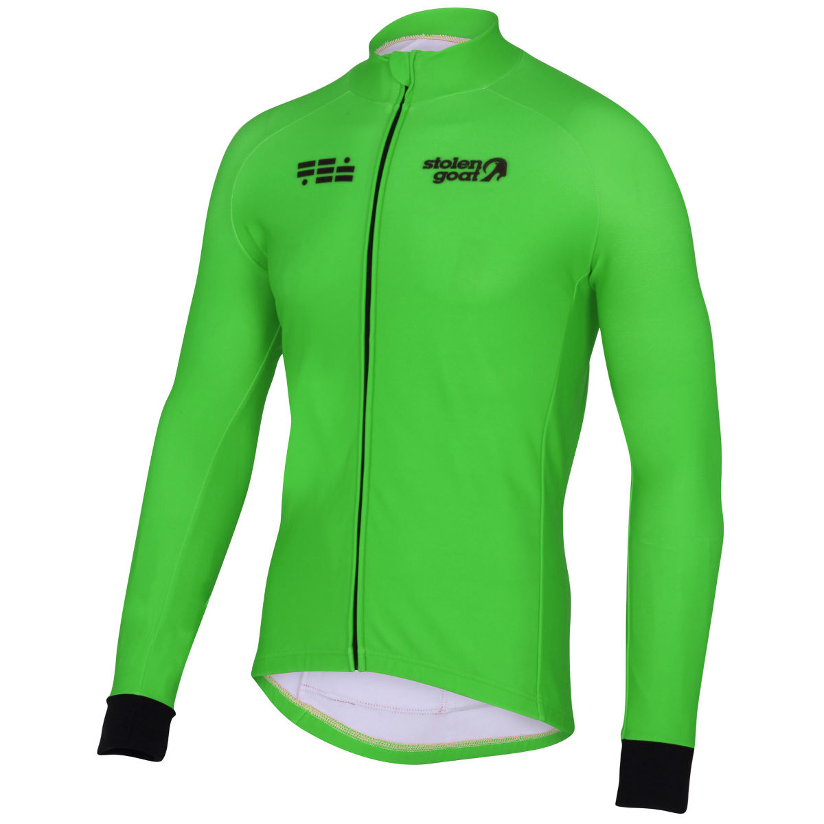 Stolen Goat Orkaan Everyday Long Sleeve Jersey - Small Green