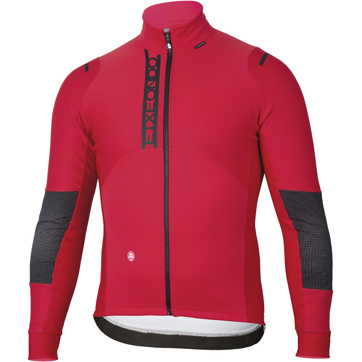 Veste Etxeondo Sekur Windstopper - 3XL Rouge/Noir Coupe-vents vélo