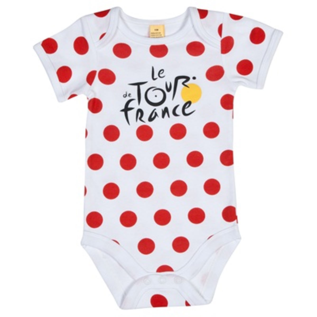 Body Bébé Tour de France (à pois) - 6 Months Rouge T-shirts