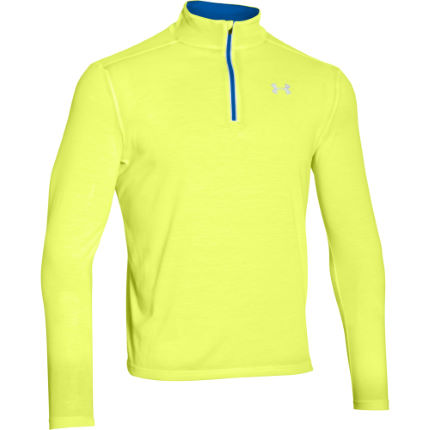 Wiggle under armour streaker 1 4 zip ss16 long for Do under armour shirts run small