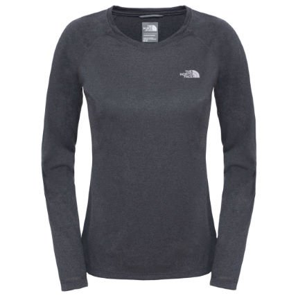 Camiseta de manga larga The North Face Reaxion Amp para mujer (OI16)