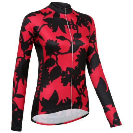 Primal Women's Cabernet Long Sleeve Jersey