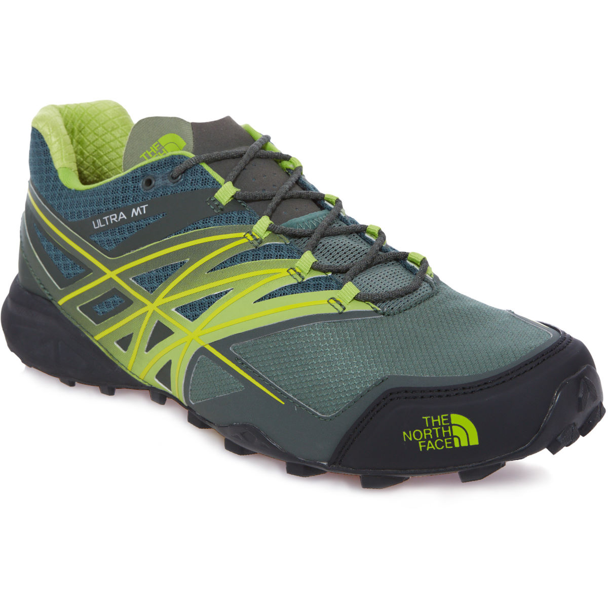 Chaussures The North Face Ultra MT (AH16) - 10,5 UK Duck Green Chaussures de running trail