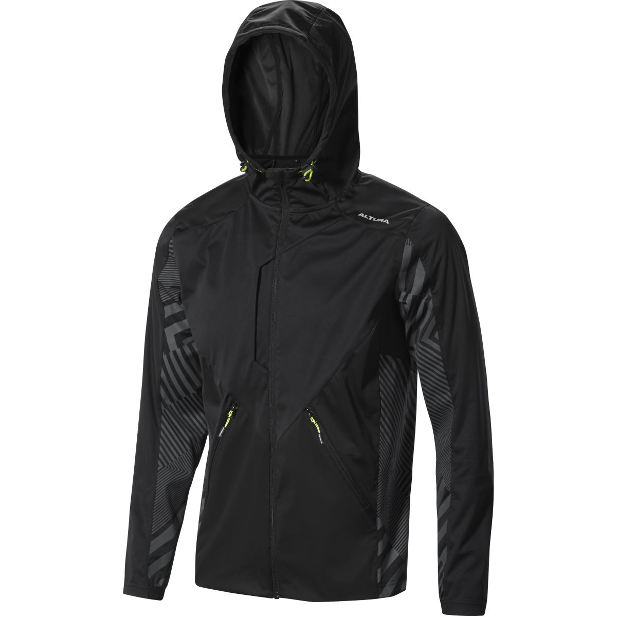 Veste Altura Three 60 (coupe-vent) - S Noir/Gris Coupe-vents vélo