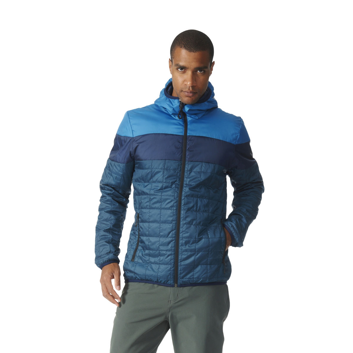 Adidas Primaloft Hooded Jacket   Insulated Jackets