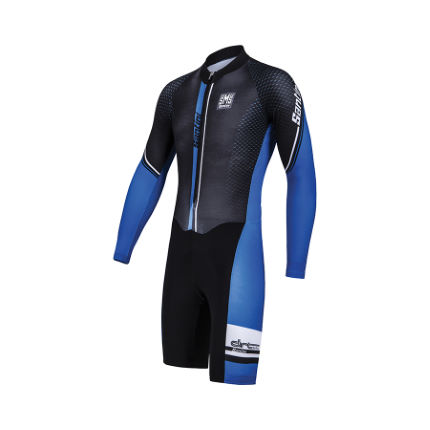 Santini Dirt Shell Cyclocross Bodysuit - Herr