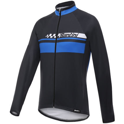 Santini Pilot Thermofleece Long Sleeve Jersey