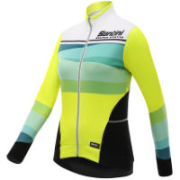 Santini Womens Coral Thermal Long Sleeve Jersey