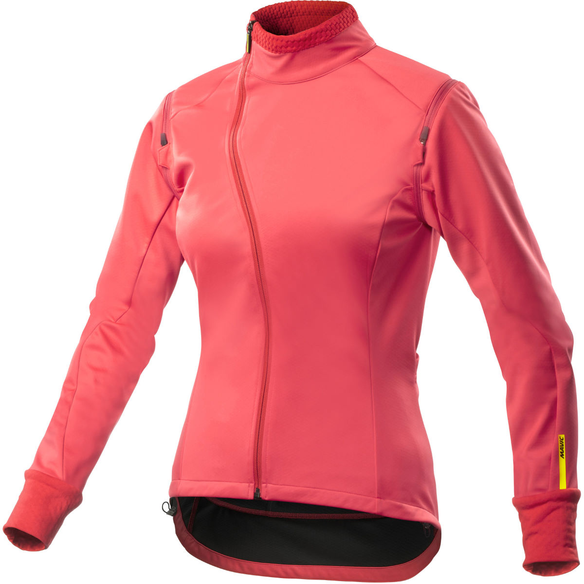 Veste Femme Mavic Aksium (convertible) - XS Papaya Coupe-vents vélo
