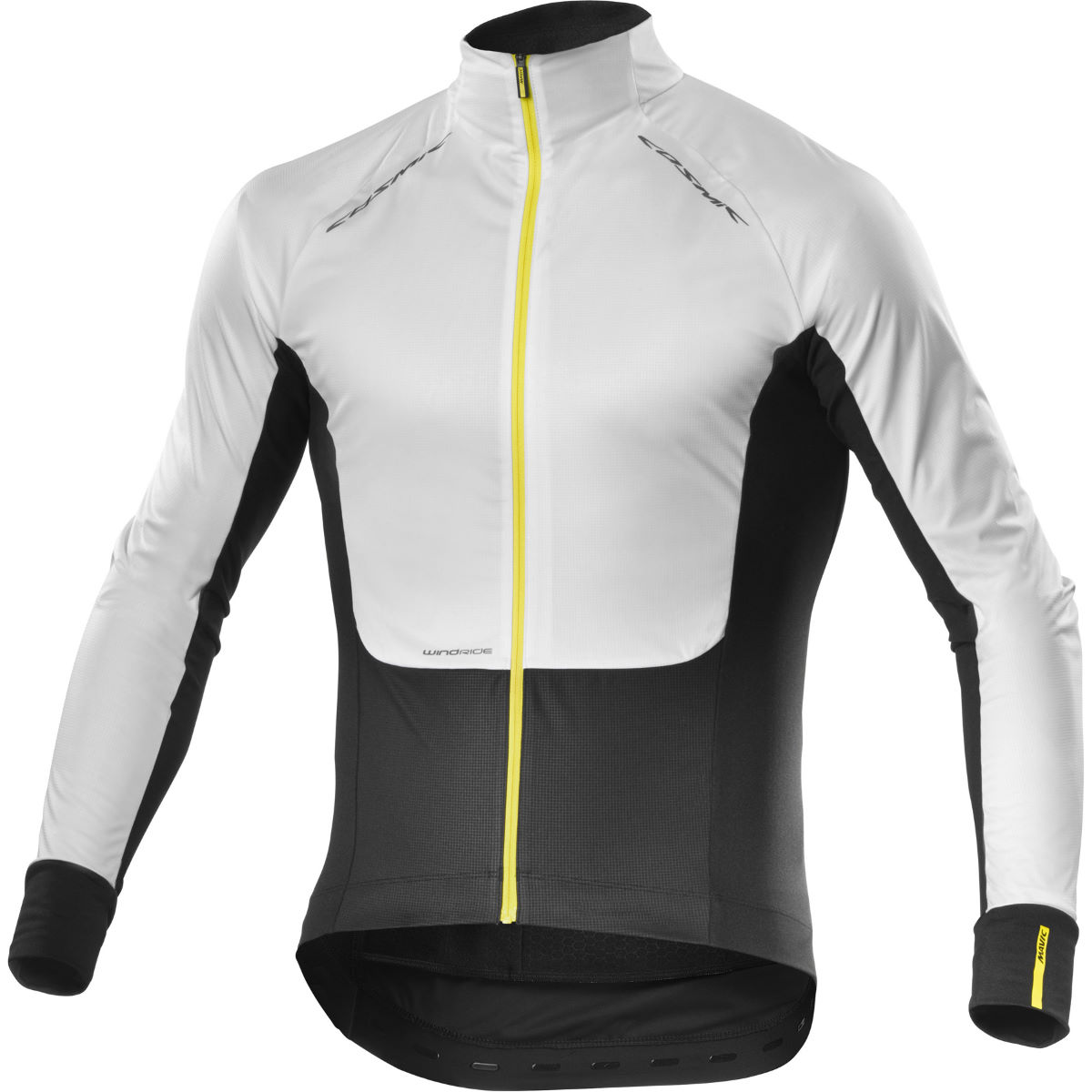Maillot Mavic Cosmic Pro Wind (manches longues) - XS Blanc/Noir