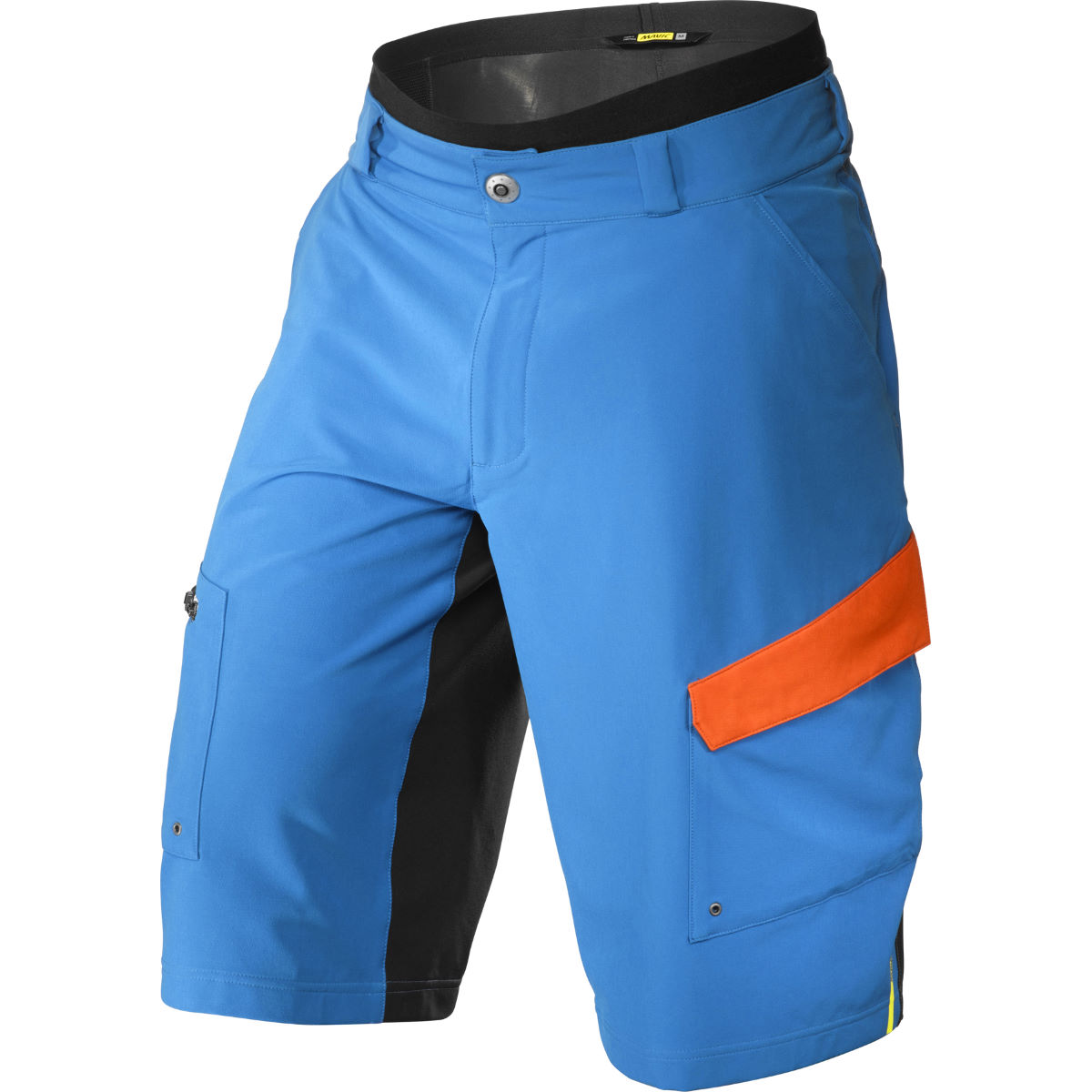 Ensemble short Mavic Crossmax Pro - L Montana/Orange Shorts VTT