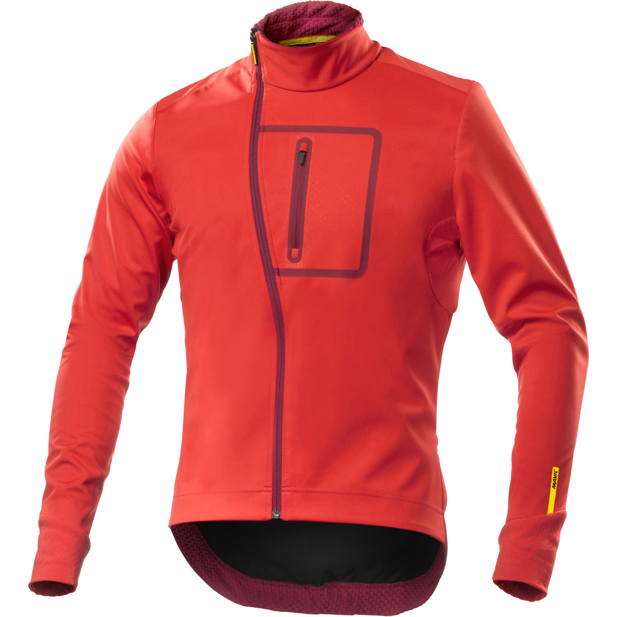 Veste Mavic Ksyrium Elite (convertible) - S Racing Red Coupe-vents vélo