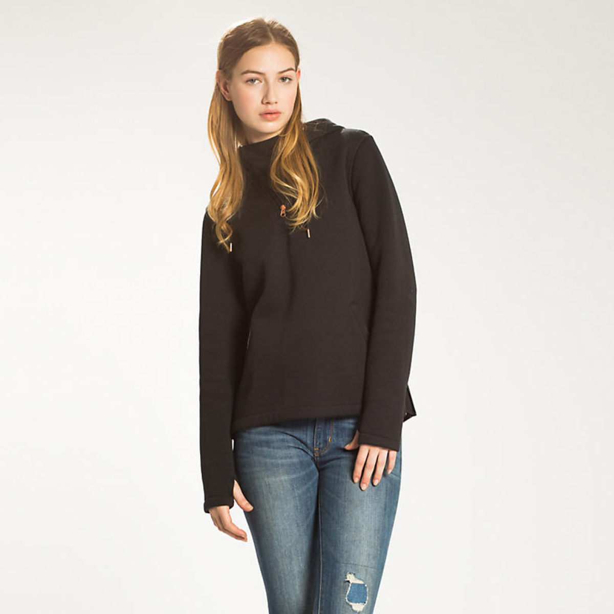 Levis Womens Commuter Half Zip Hoodie   Fleeces & Hoodies