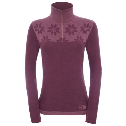 Pull Femme The North Face Harpster (fermeture zippée 1/4)
