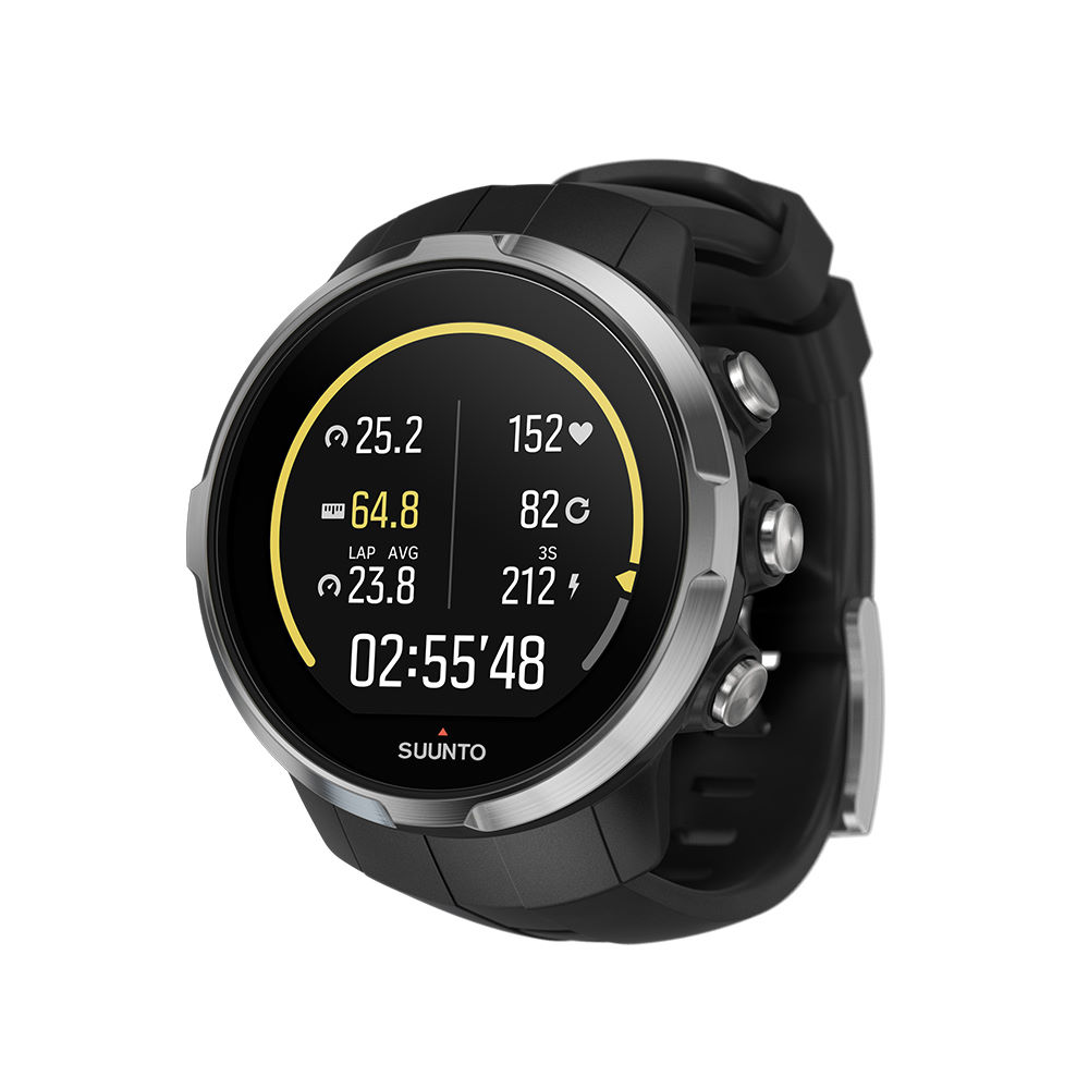 Wiggle suunto spartan sport gps watch with hrm gps running computers for Watches with gps