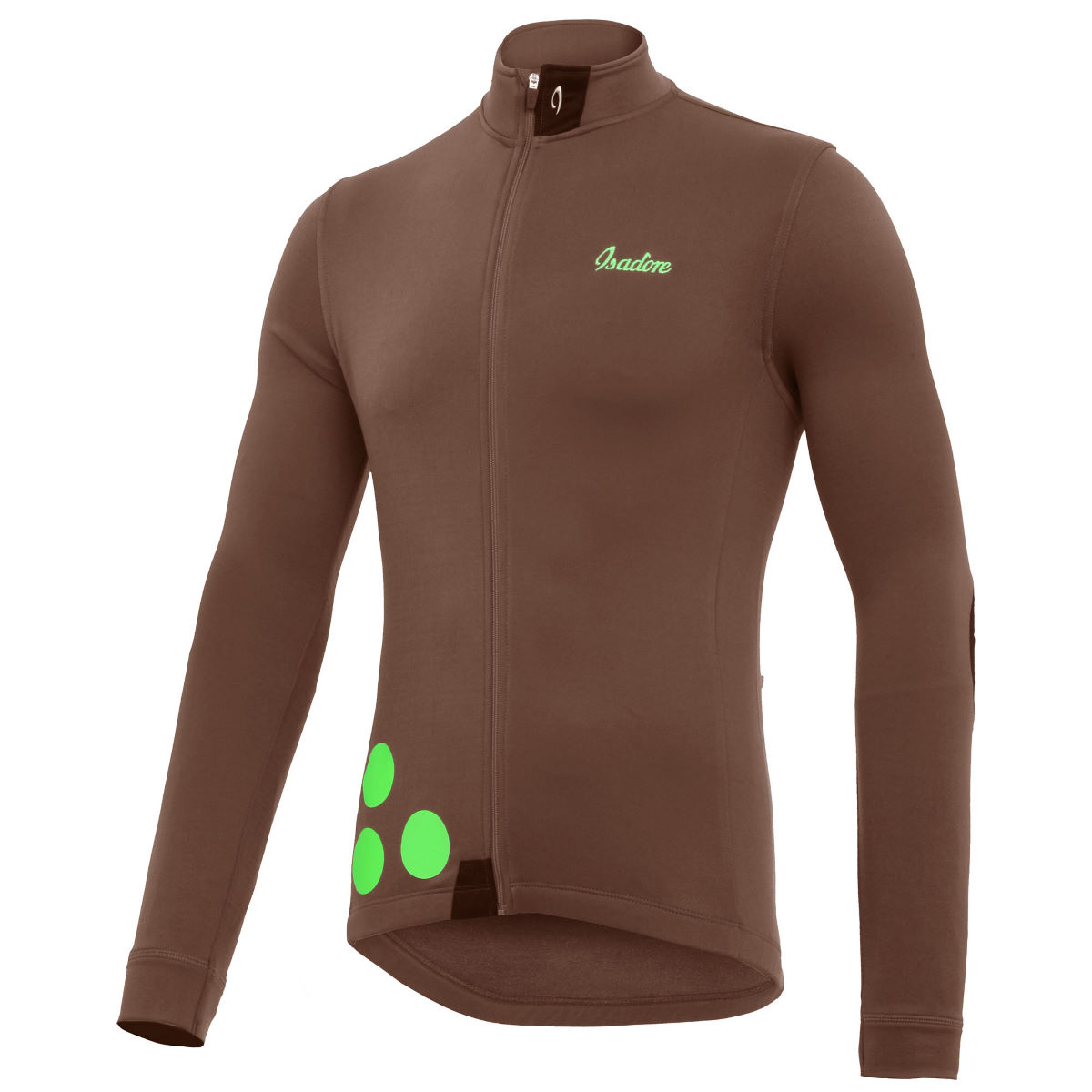 Maillot Isadore Thermerino (manches longues) - L Cocoa Brown