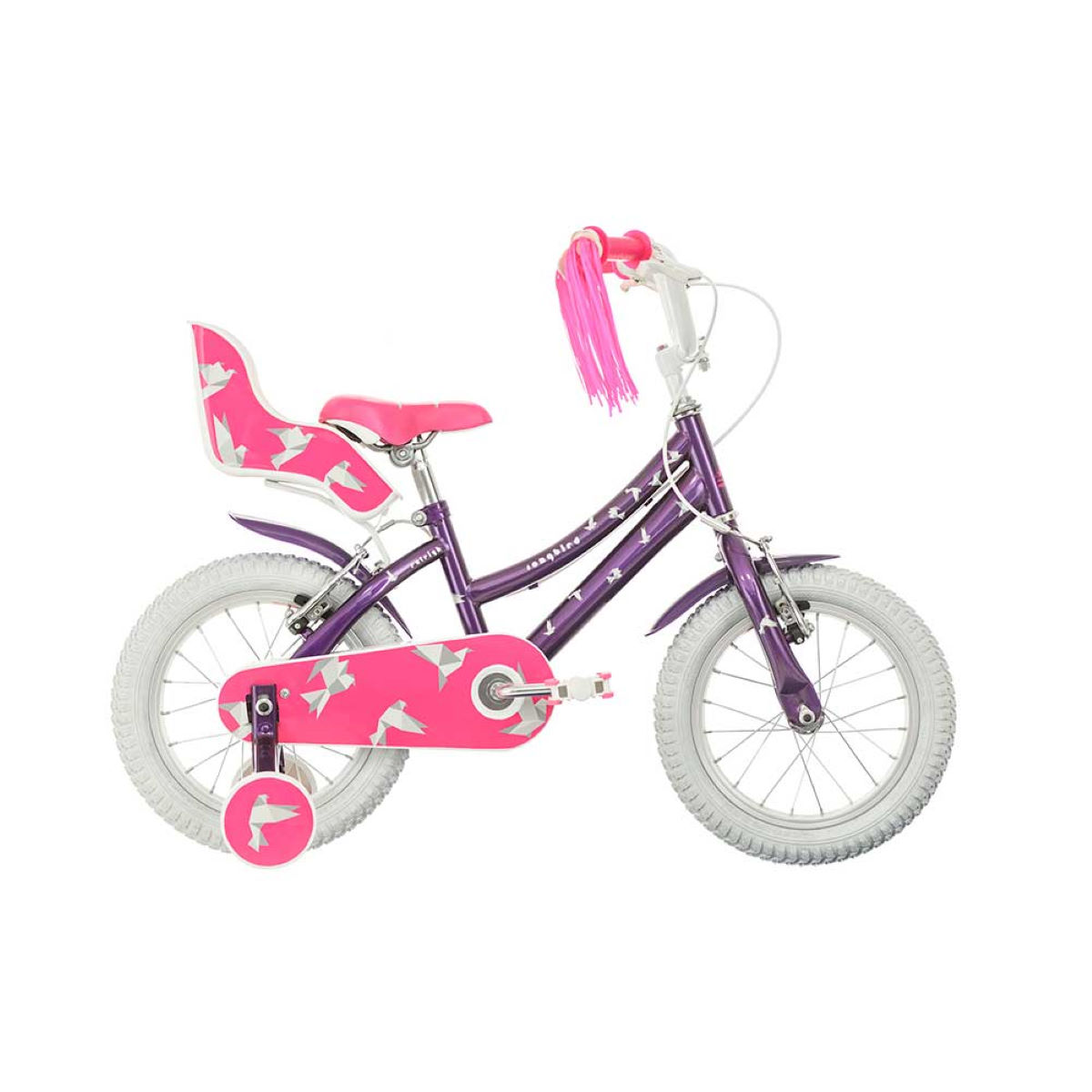 Vélo Enfant Raleigh Songbird 14 (2017) - 14'' Wheel Stock Bike Mauve