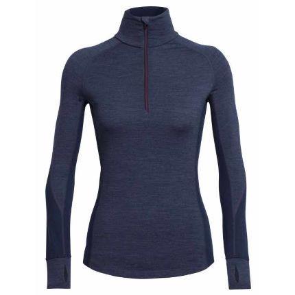 Icebreaker Women's Winter Zone Long Sleeve Half Zip Top