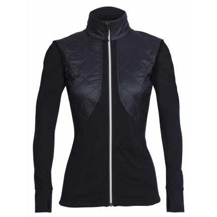 Icebreaker Womens Ellipse Long Sleeve Zip Jacket