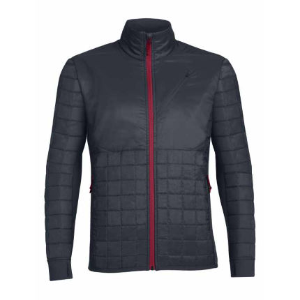 Icebreaker Helix Long Sleeve Zip Stealth Jacket