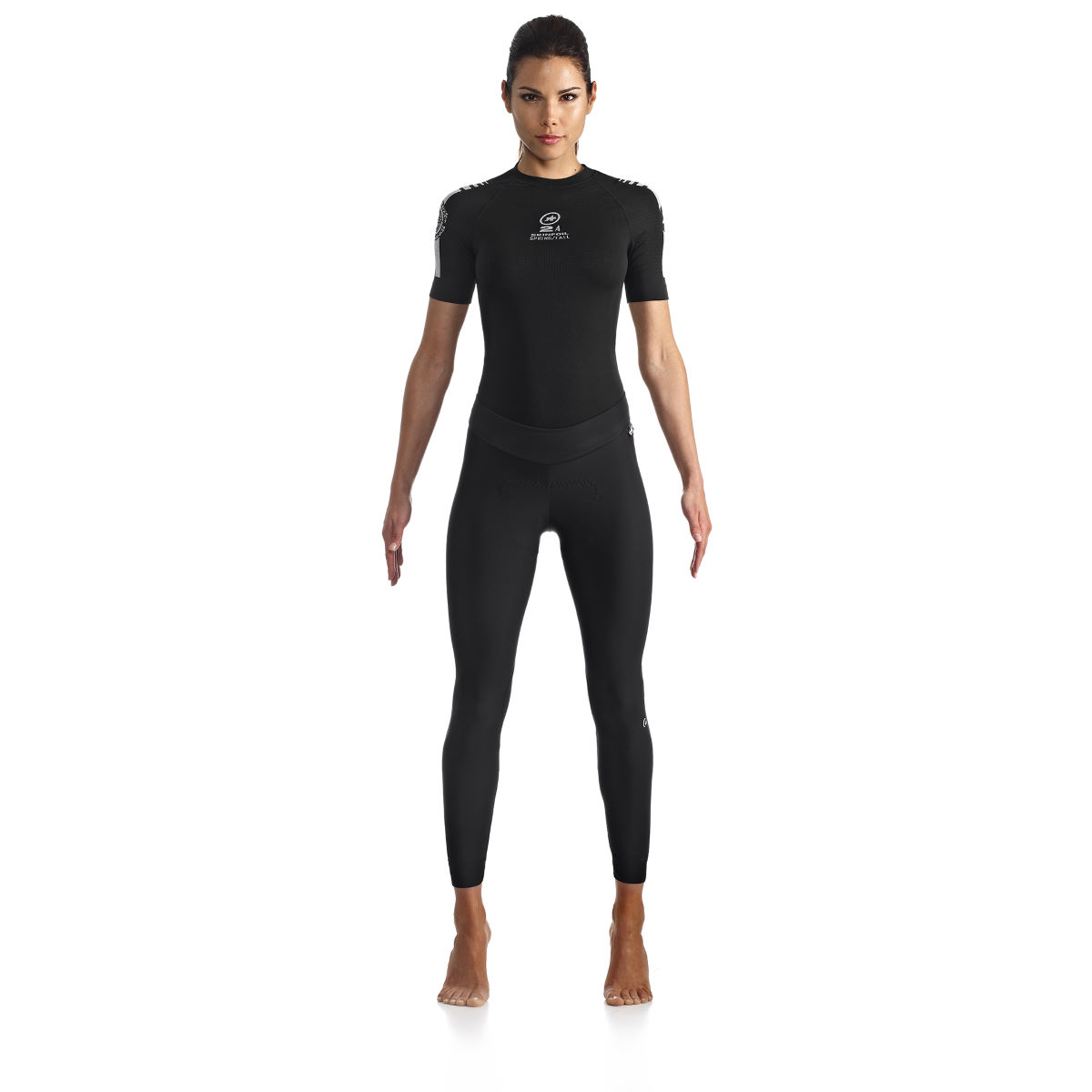 Collant Femme Assos HL.tiburu_s7 - S Block Black Cuissards longs de vélo
